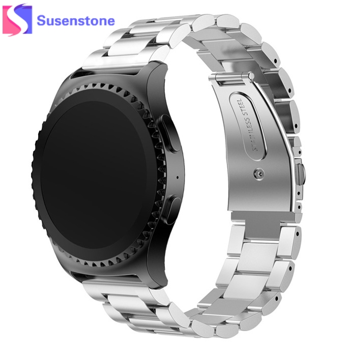 Hot Stainless Steel Watch Band For Samsung Galaxy Gear S2 Classic SM-R732 reloj mujer marcas famosas Band 2017 New Clock все цены
