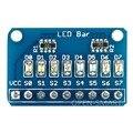 8 Bits LEVOU Letreiro Bar Display LED Módulo com 4 Tipos de cor para Arduino Baixo nível pode Llight LED para Teste MCU IO indicador