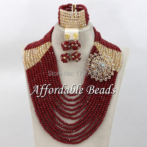 Nice Costume Jewelry Set Hot Sale Bridal Costume Jewelry Wholesale ABW060