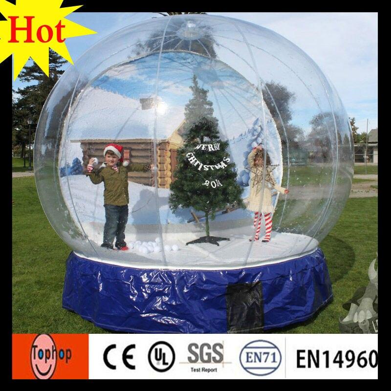 Aufblasbare weihnachten decor benutzerdefinierte snow globe ...