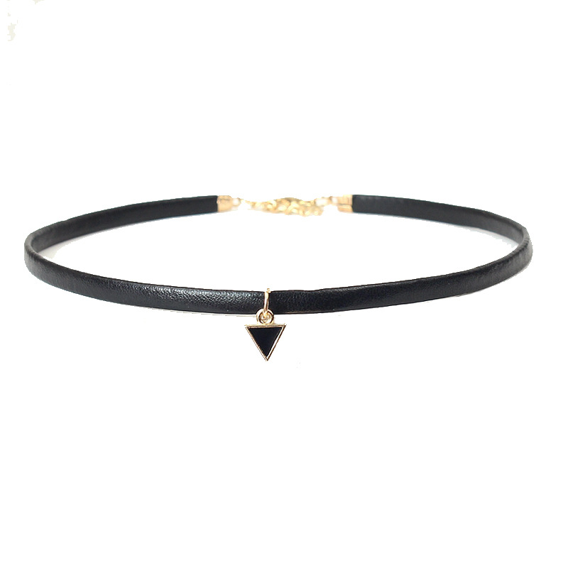 19 New hollow Designs Velvet Chokers Necklace Black Leather Rope Chain layer Chocker Vintage Jewelry for women Collier femme 21