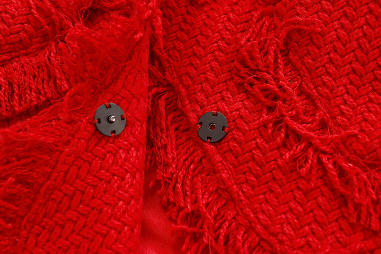 Buste Défilé Longues Hivers 2018 De Fonds Jupe Mince À Tweed Nouveau Automne Mode Costumes Tissu Tempérament Manches Veste ASqpZRwS