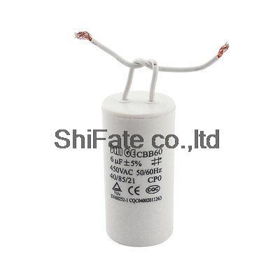 6uF 450VAC Motor Run Polypropylene Capacitor