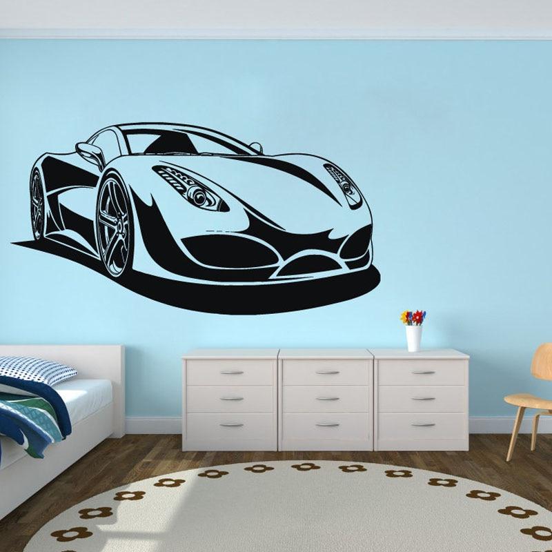 2018 New Arrival Wall Stickers Neymar Wall Decor Vinyl Automobile