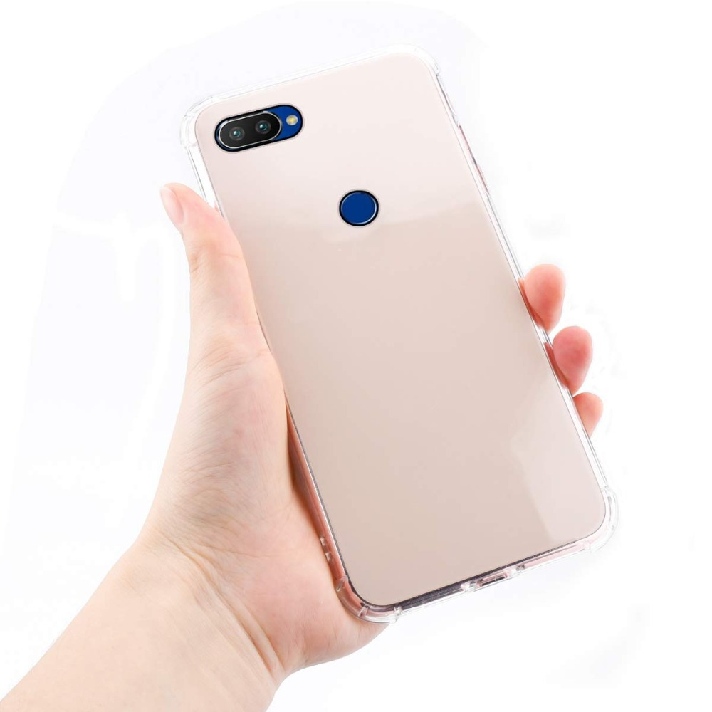 OPPO Realme 2 pro Case Cover OPPO Realme 2 ultra thin Clear Transparent TPU back case for OPPO Relame 1 C1 Full Cover Back cover in Phone Bumpers from Cellphones Telecommunications