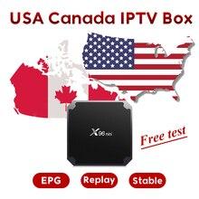 ТВ ссылка США Канада IP tv Box с бесплатным 12 месяцев IP tv подписка 500 + США ТВ 168 Канада ТВ 400 + Арабский IP tv box бесплатно 3800 VOD