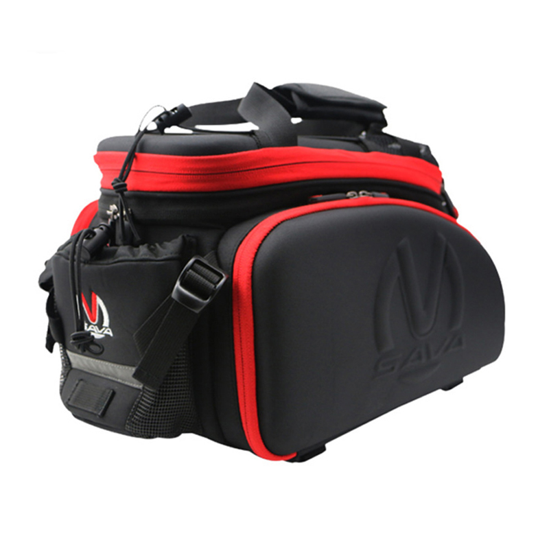SAVA 35L Multi-function Cycling Rear Seat Trunk Bag Bike Bicycle Luggage Package Rear Carrier Pannier EVA Shell Wear-resistant