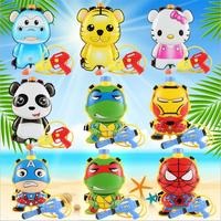 HOT Sale Kids Cute Outdoor Super Soaker Blaster Fire Backpack Pressure Squirt Pool Toy Children Summer