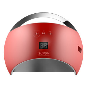 Image 2 - SUN UV SUN6 48W Nail Dryer Auto Sensor Portable UV Lamp For Drying Low Heat Model Double Power Fast Manicure Nail Led Lamp