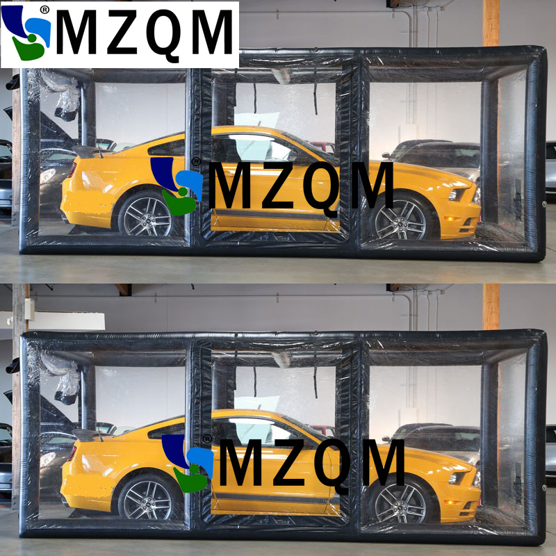 MZQM 5.5*2.6*2.3m Light And Portable Inflatable Car Capsule Showcase,Inflatable Car Shelter Showcase For Sale,Car Cover Garage