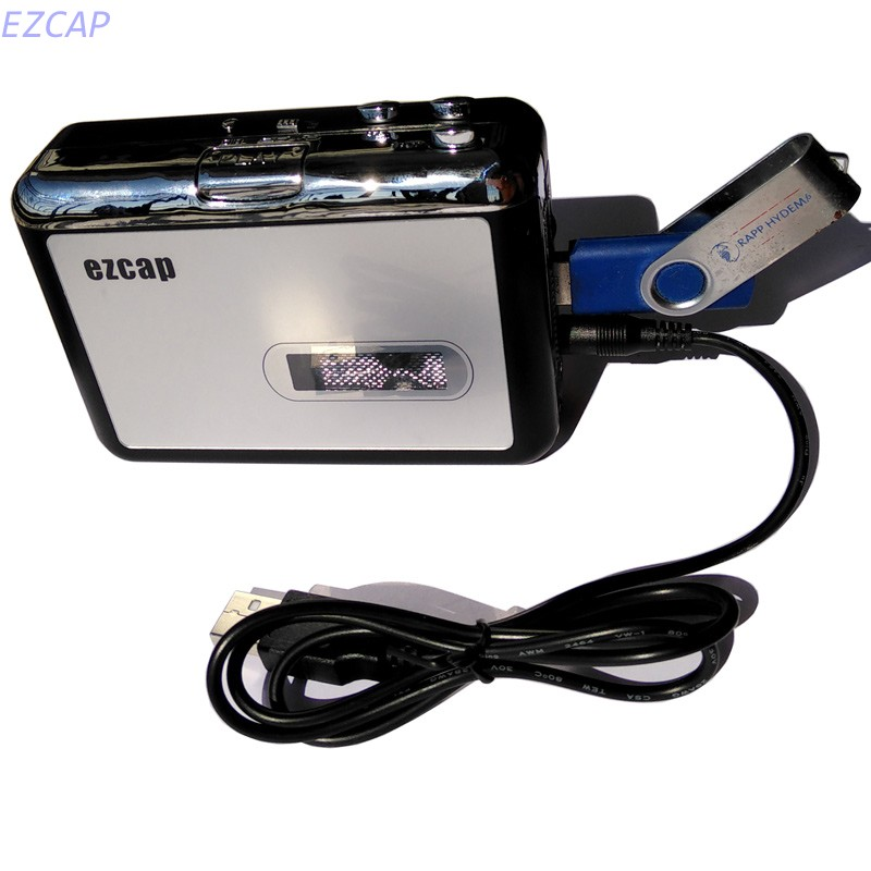USB Flash disk converter, convert old tape cassette to mp3 save in usb flash disk directly,no pc requred, free shipping