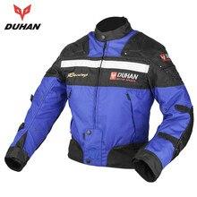 DUHAN Pro Street Motocross Windproof Jacket  Motorcycle Racing Rider Jacket Motorcycle Jacket For Men Moto Clothing