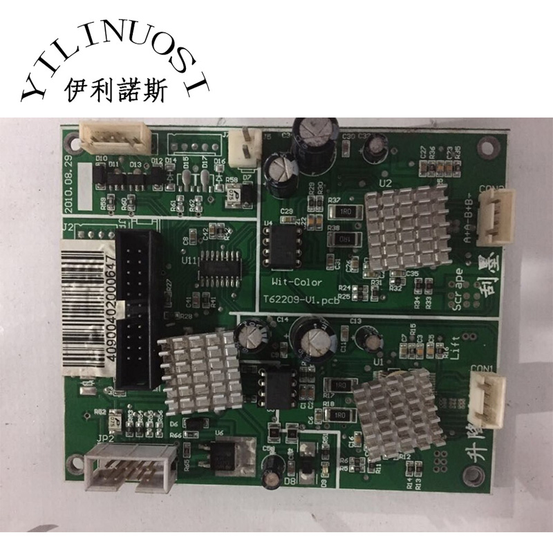 Original cap station driver board for witcolor ultra 9000 printer spare parts brand new inkjet printer spare parts konica 512 head board carriage board for sale