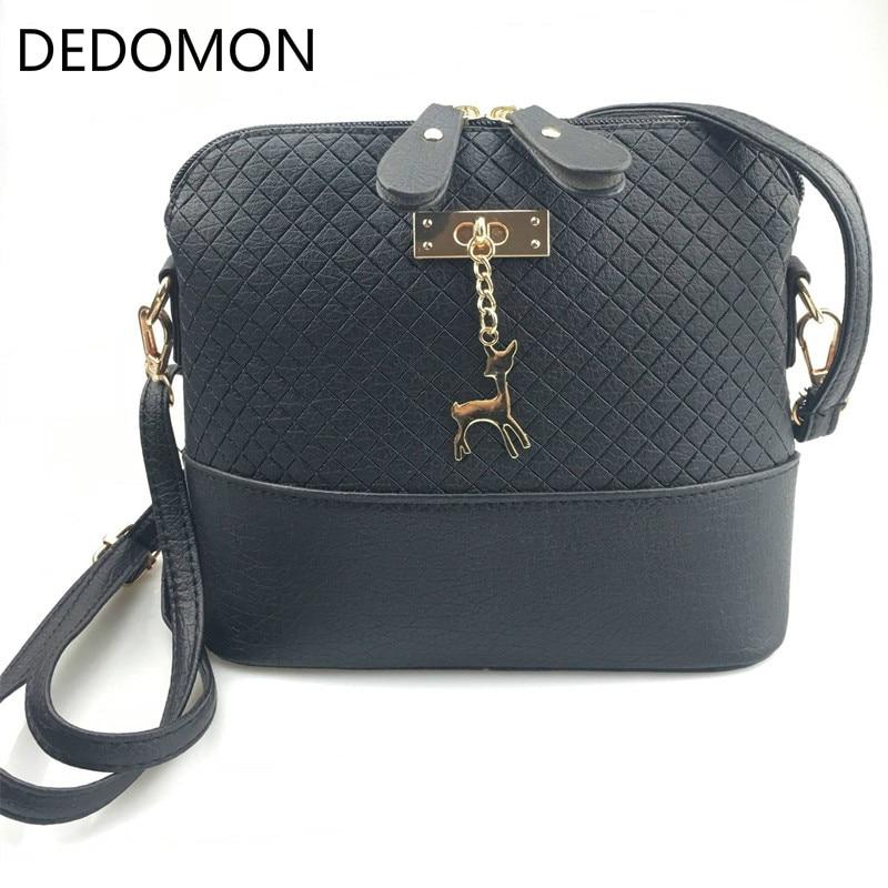 HOT SALE 2018 Women Messenger Bags Fashion Mini Bag With Deer Toy Shell Shape Bag Women Shoulder Bags handbag New Gifts