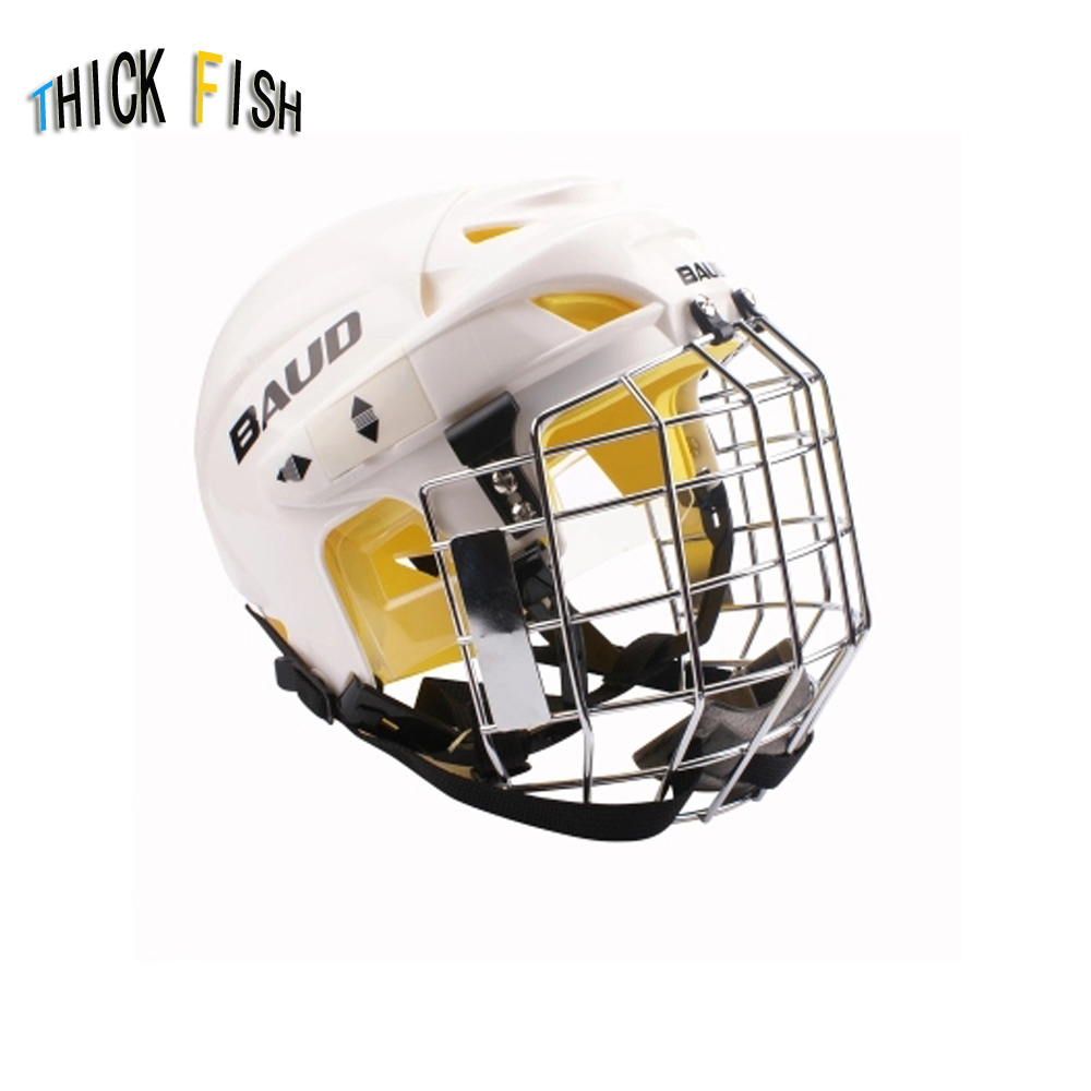 Professional Ice Hockey Helmet Mask Child Adolescent Ice Hockey Helmet Adult Hockey Helmet Mask цена