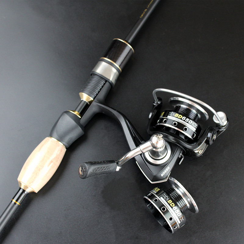 mini fishing wheel lure spinning wheel double reels BD650 free shipping 7BB+1RB ...