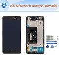 "5 ""negro blanco lcd para huawei g play mini original lcd + pantalla táctil digitalizador + frame asamblea completa herramientas gratuitas"