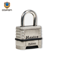 New Stainless Steel Password Padlock High Security Password Padlock Waterproof Rust Lock Waterproof Protective Cover