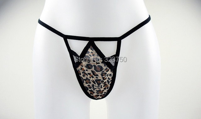 Leopard Underwear Wear Vibrating Egg Thongs , Lady's Panties Adult Sex Toys For Women Clitoris Massage Sexy T-Back Chastity Belt