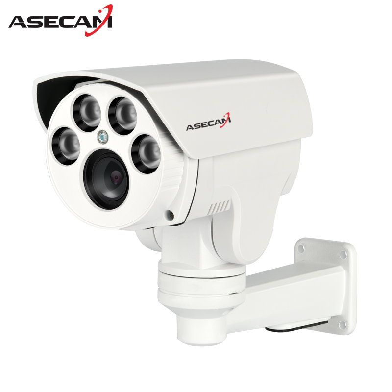 New 1080P Ptz AHD Security Camera Outdoor Bullet 4X Optical Auto Zoom 2.8-12mm Lens Waterproof Infrared Surveillance Camera hikvision ds 2de7230iw ae english version 2mp 1080p ip camera ptz camera 4 3mm 129mm 30x zoom support ezviz ip66 outdoor poe