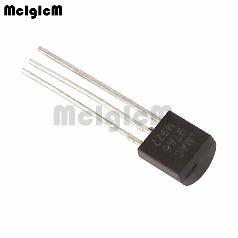 MCIGICM 5000pcs MAC97A6 400V 600mA silicon controlled switch TO 92 rectifier diode Thyristor-in Thyristors from Electronic Components & Supplies