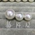 16MM Big Beads Natural Shell Pearl Studs Earrings With 925 Sterling Silver Mother Of Pearl Fashion Women Jewelry Free Shipping