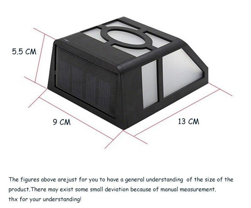 LEVOU Luz Solar IP44 à prova d'