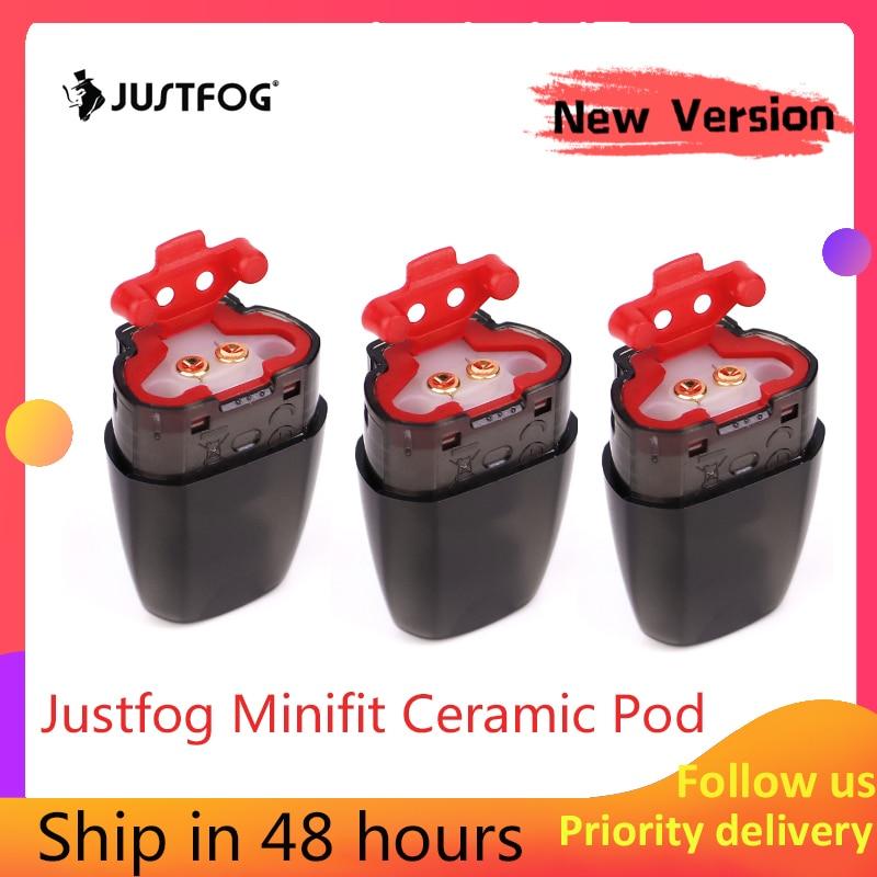 Nouvelle Version!!! Original JUSTFOG Minifit Pod 3 pièces 1.5ml pour JUSTFOG minifit Kit de démarrage accessoire de cigarette électronique