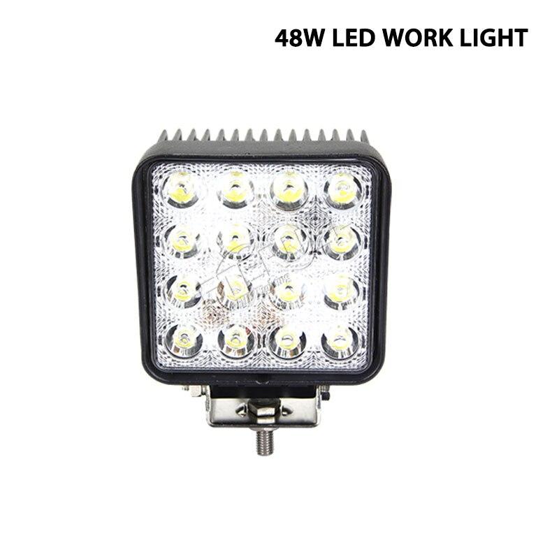 10pcs 48W LED work light tractor headlight farm