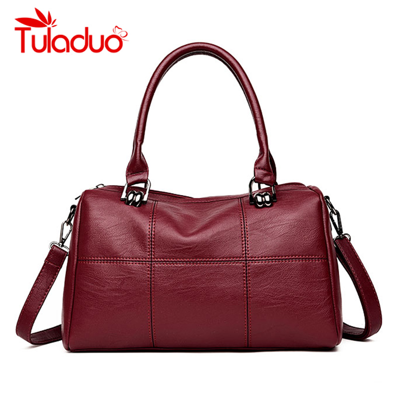 New Luxury Handbags Women Bags Designer PU Leather Shoulder Bag Women Handbags Ladies Casual Tote Shoulder Bags Ladies Sac Femme 2017 women bag luxury brand handbags women crossbody bags designer pu leather casual tote bag ladies messenger bags fashion sac