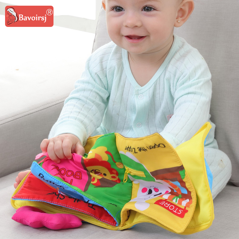 New Early Education Puzzle Cloth Book Paper Book Baby Story Montessori Toy Small Dolls At Home Waldorf Toys For Baby T0032