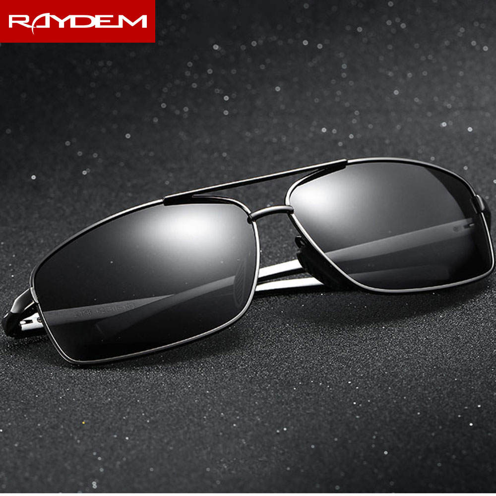 Image 5 - Polarized Men's Vintage Sunglasses Aluminum Sun Glasses Goggle Eyewear Accessories For Men-in Men's Sunglasses from Apparel Accessories