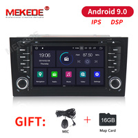 MEKEDE IPS Car Multimedia Player Car Radio Two Din Android 9.0 Stereo System For Audi/A6/S6/RS6 GPS RAM 2GB DSP USB DVR OBD2 FM