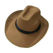 Adjustable Rope Male Female 2018 New Fashion Western Style Caps Cowboy Cowgirl Hats