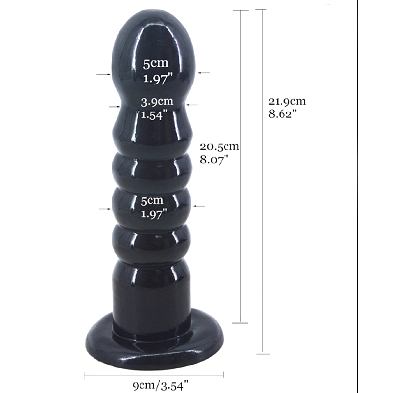 Buy Big Anal dildo Strong Sucker Anal beads Silicone butt plug ball anal plug Gay sex toys women men adult Sex product Sextoys