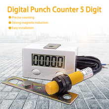 Industrial counter 0-99999 LCD Digital Punch Counter 5 Digit