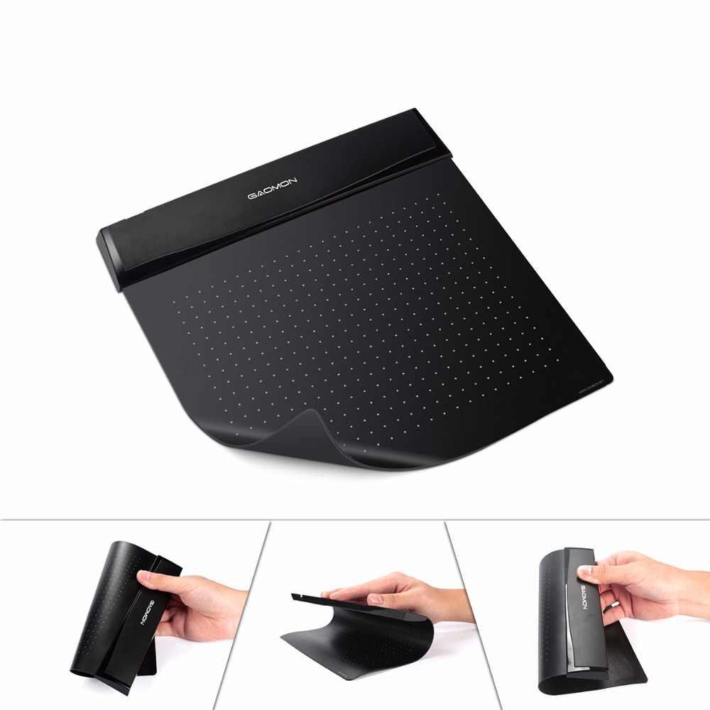 Originale GAOMON S56K 6x5 Pollici Mini USB Grafica Digitale Tablet Flessibile Foglio da disegno per la Firma con il Supporto Della Penna