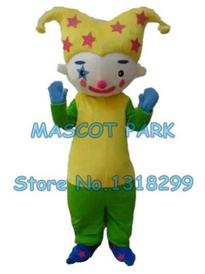Costume de mascotte de clown personnage de dessin animé personnalisé costume de carnaval cosply 3039