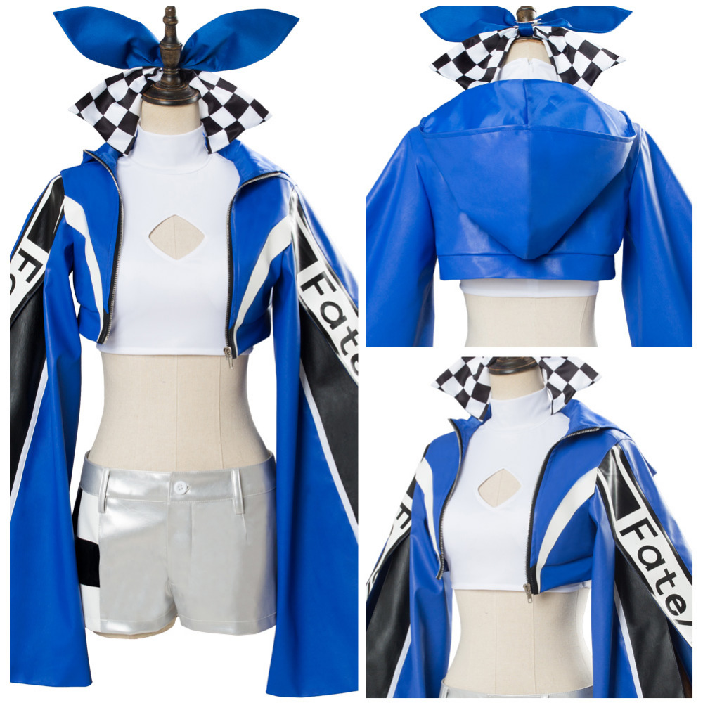 Fate/EXTELLA EXTRA Racing Tamamo no Mae Cosplay Costume Racing Outfit Halloween Carnival Costumes For Women Girls