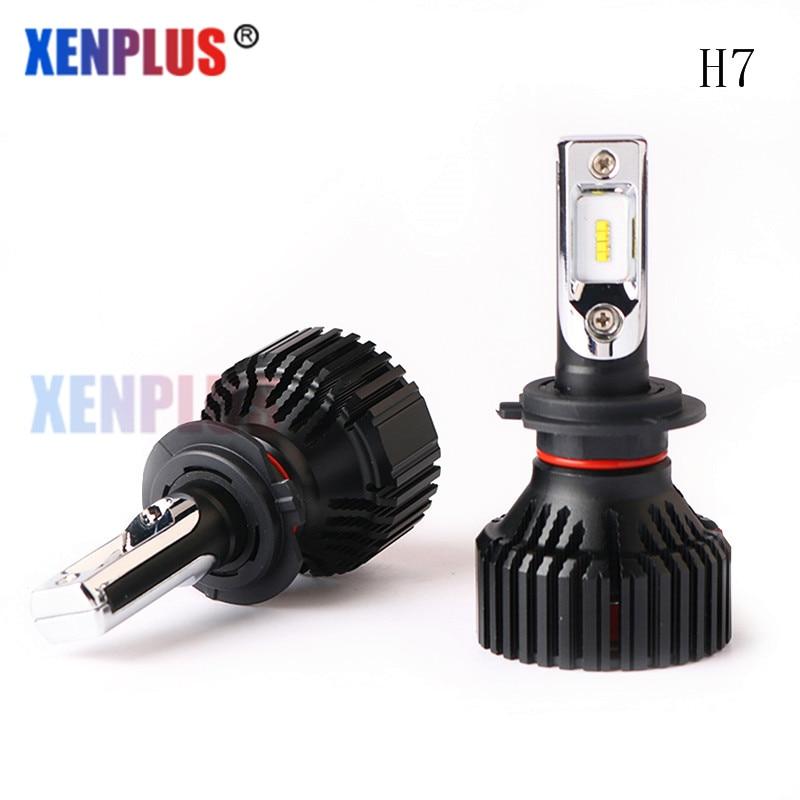 Xenplus 2pcs H7 Led Car Headlight H13 H11 H1 9005 9006 9004 9007 Car Styling 6500K E3 Automobiles LED Bulb Moto Auto Fog Lamp car led headlight kit led with fan h1 h3 h4 h7 h8 h9 h10 h11 h13 9005 hb3 9006 9004 9007 9005 hi lo for car hyundai toyota