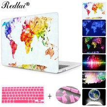 Фотография For Apple Macbook Pro 13 15 Retina Shell Blue Marlin Splash Print Case Laptop Case For Air 11 13 with keyboard cover