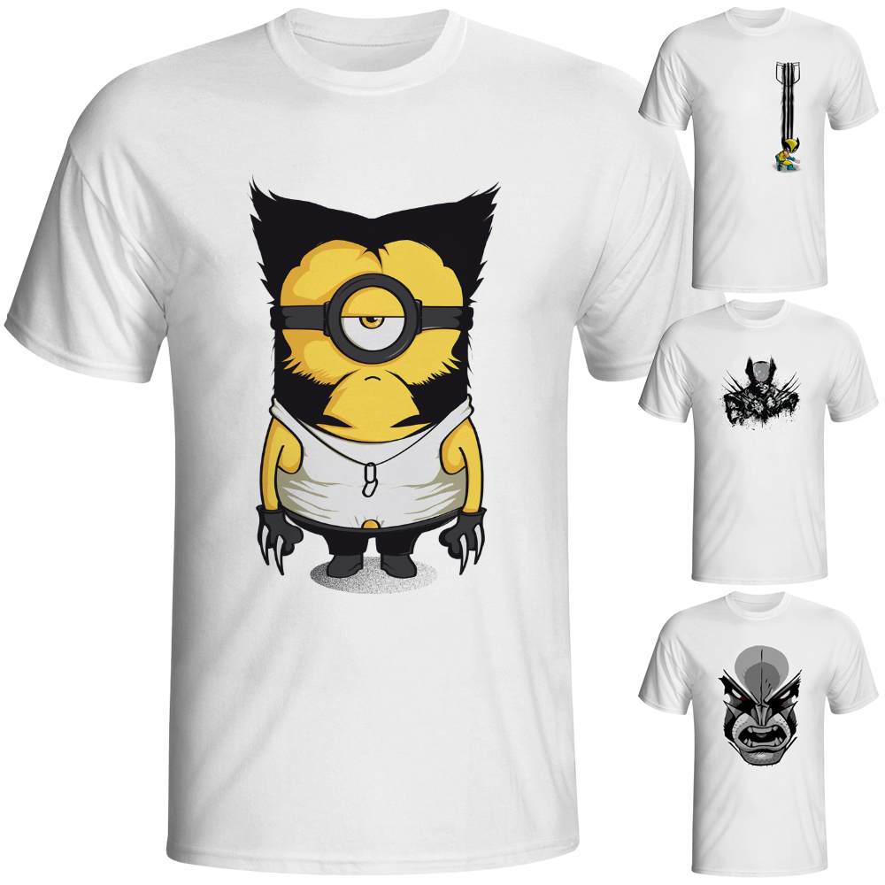 Gt86 design t shirts men s t shirt - Logan T Shirt Funny Geek New X Men Movie Design Naughty Creative T Shirt Fashion