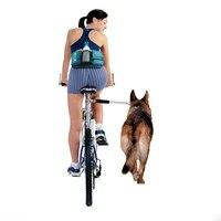 New Nylon Elastic Dog Bicycle Traction Belt Rope Bike Attachment Pet Walk Run Jogging Lead Pets
