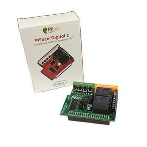 Image 2 - מקורי פטל Pi 3 הרחבת לוח PiFace דיגיטלי 2 עבור פטל Pi 3 B +