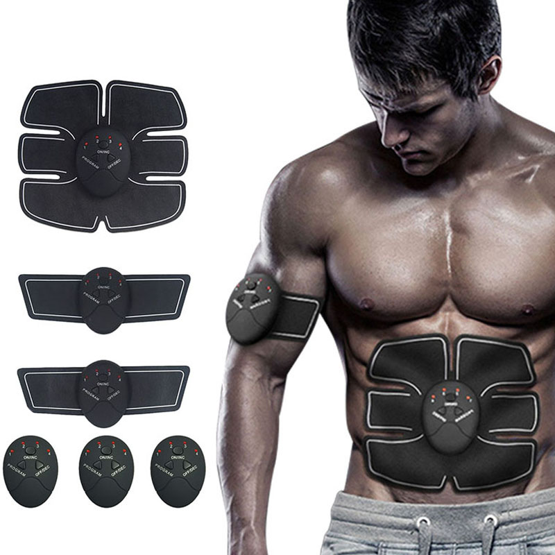 Smart EMS Elektrischen Impuls Behandlung Massager Bauch Muscle Stimulator Exerciser Gerät Verlust Gewicht Abnehmen Ausbildung Massager