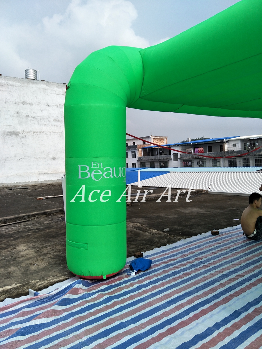 6m L x5.75mW x3m H Cool Green Inflatable Mist Tent with logo( without Mist Machine)-in Ballons u0026 Accessories from Home u0026 Garden on Aliexpress.com | Alibaba ... & 6m L x5.75mW x3m H Cool Green Inflatable Mist Tent with logo ...