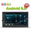 Android 6.0 dvd-плеер автомобиля универсальный gps-навигация x-trail Qashqai x trail juke для nissan 1024*600 автомобильный gps радио видео плеер