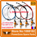 Motorcycle Dirt Bike ATV ABS Brake Anti-lock Braking System With 500mm to 900mm Colorful  Hydraulic Reinforced Brake Oil Hose