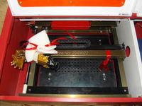 Rotary Axis Mini 50W CO2 Laser Engraving Machine Desktop