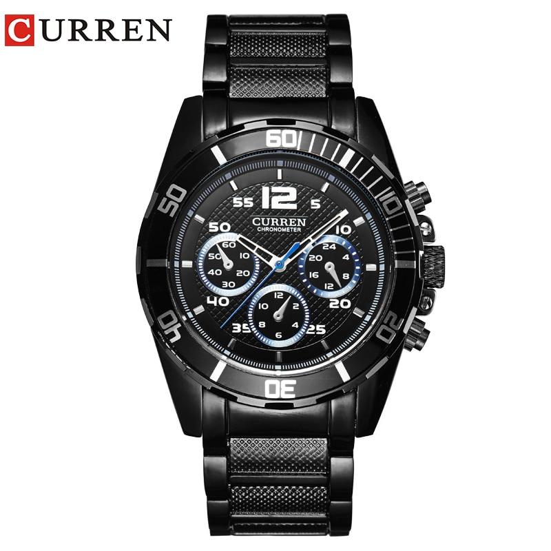 CURREM New Men's Business Fashion Curren Brand Men Casual Wrist Quartz Watch 8073 все цены